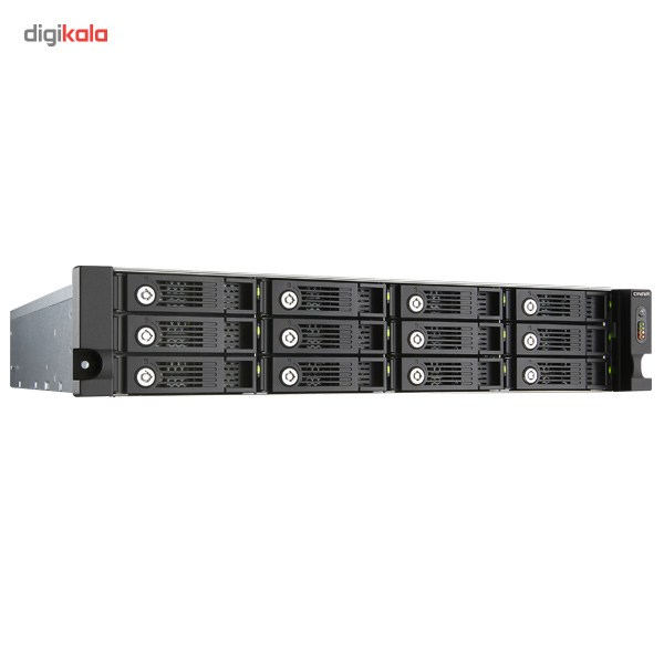 ذخیرهساز تحت شبکه کیونپ مدل TVS-1271U-RP فاقد هارددیسک