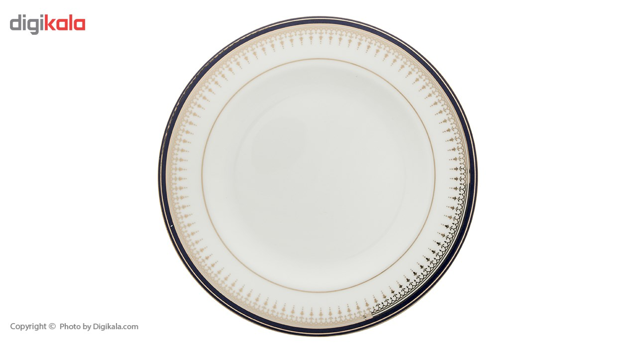 سرویس غذاخوری 28 پارچه چینی زرین ایران سری ایتالیا اف مدل Khatereh 2 درجه یک
