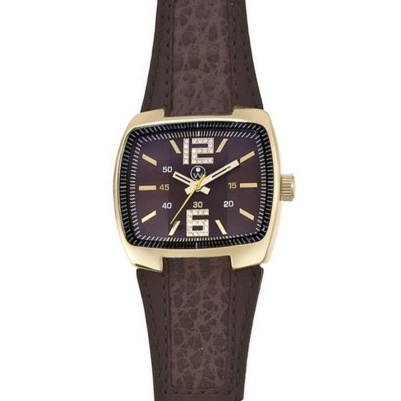 ساعت مچی عقربه ای مردانه الیور وبر مدل 0126-BRO