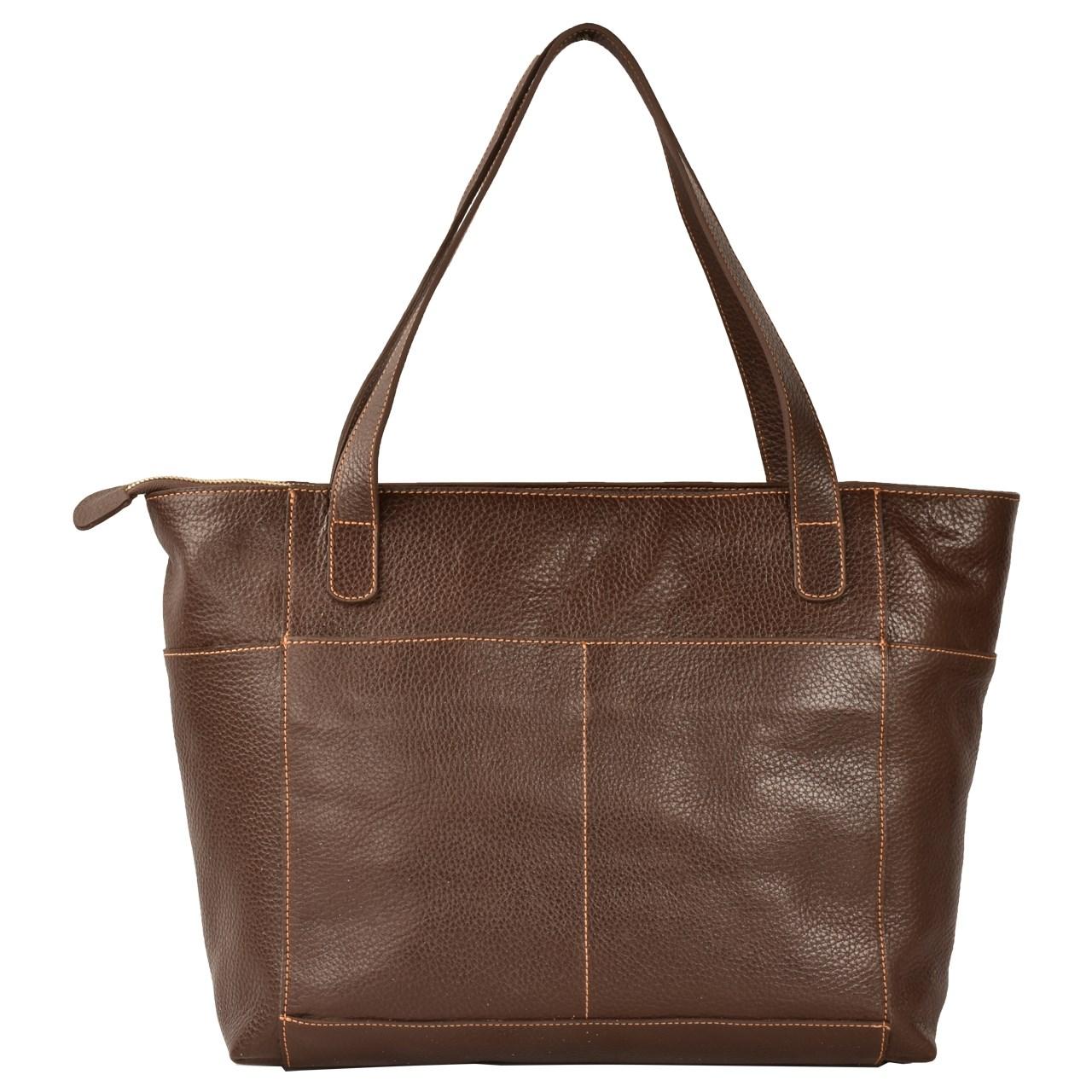 کیف دستی چرم طبیعی کهن چرم مدل V156-7