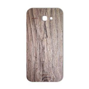 برچسب پوششی ماهوت مدل Walnut Texture مناسب برای گوشی  Samsung A7 2017