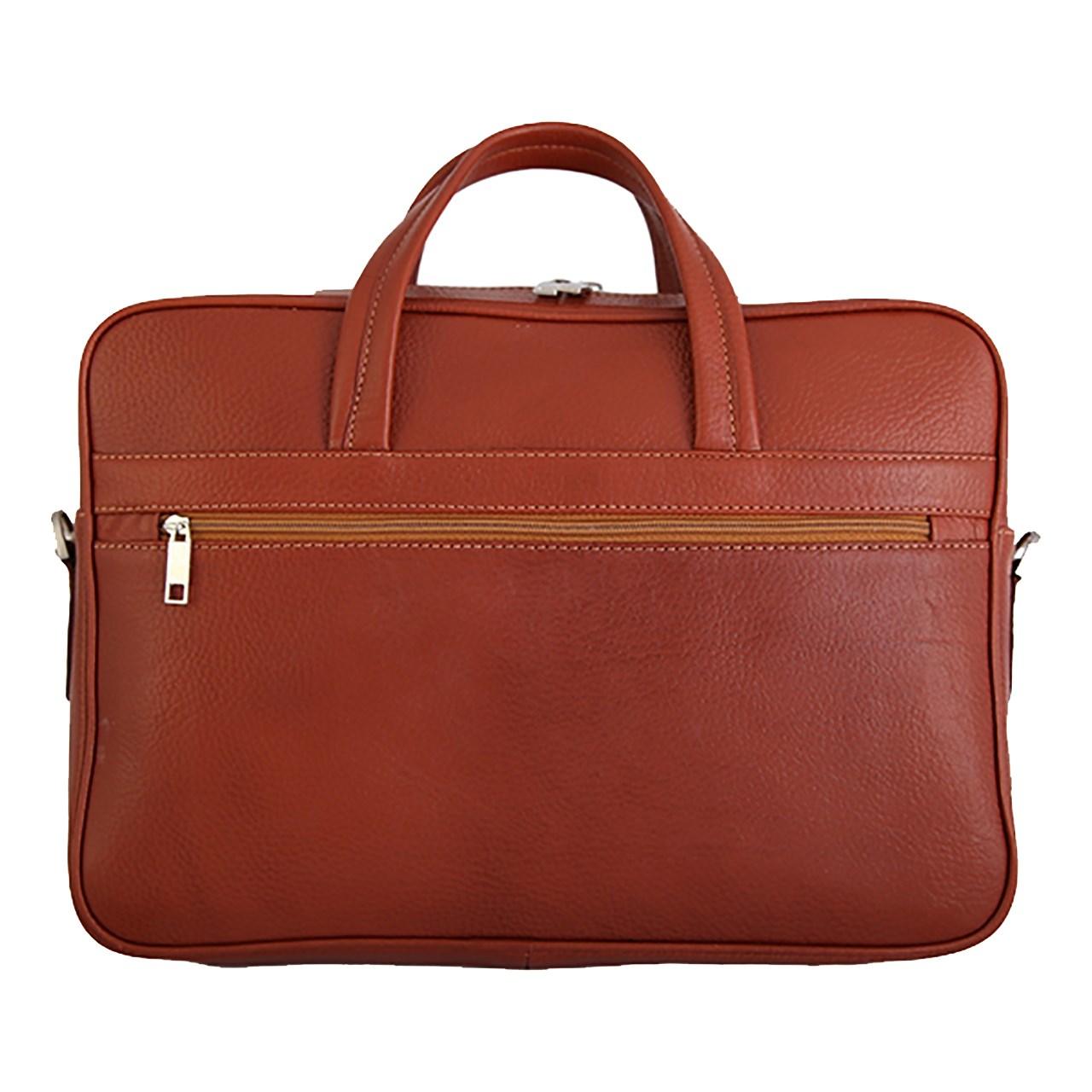 کیف دستی چرم طبیعی گالری مثالین مدل 24009