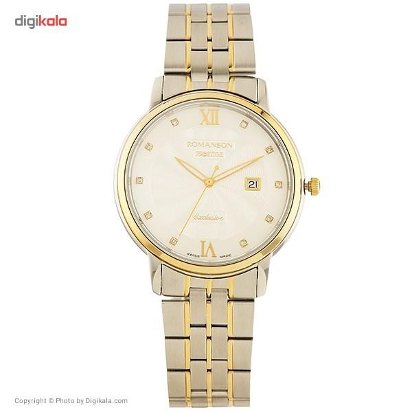 ساعت مچی عقربه ای مردانه رومانسون مدل TM3257MM1CAS1G