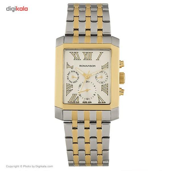 خرید ساعت مچی عقربه ای مردانه رومانسون مدل TM0342BM1CA11G