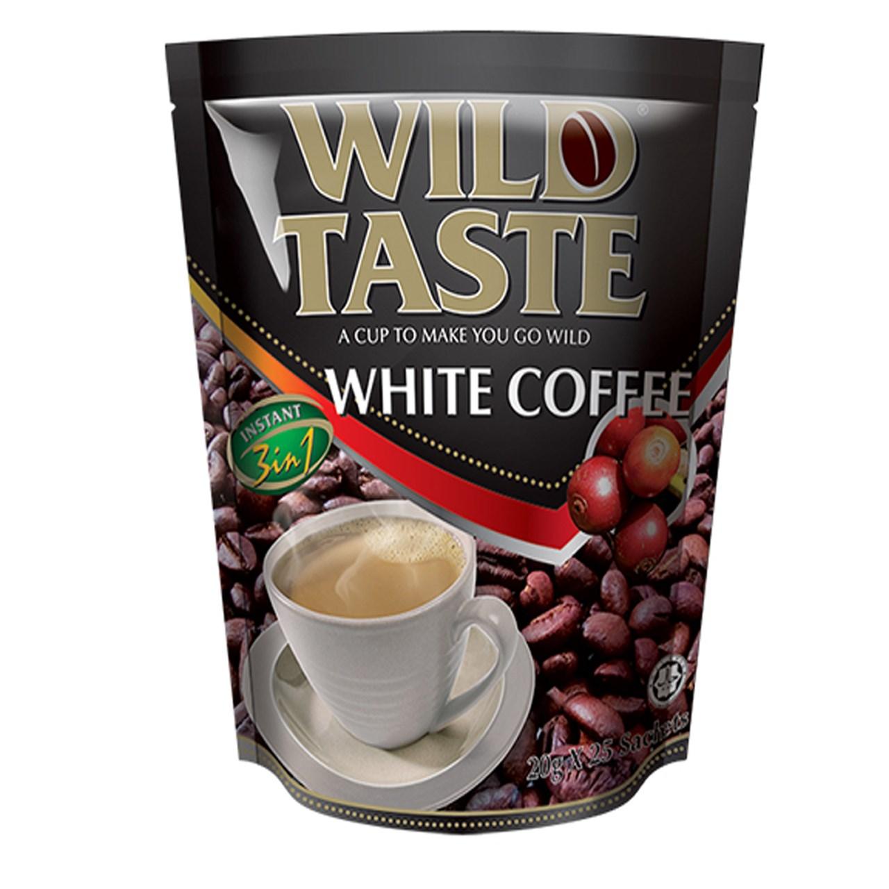بسته قهوه سفید وایلدتست