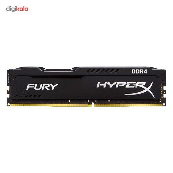 رم کامپیوتر کینگستون مدل HyperX Fury DDR4 2400MHz CL15 ظرفیت 8 گیگابایت main 1 1