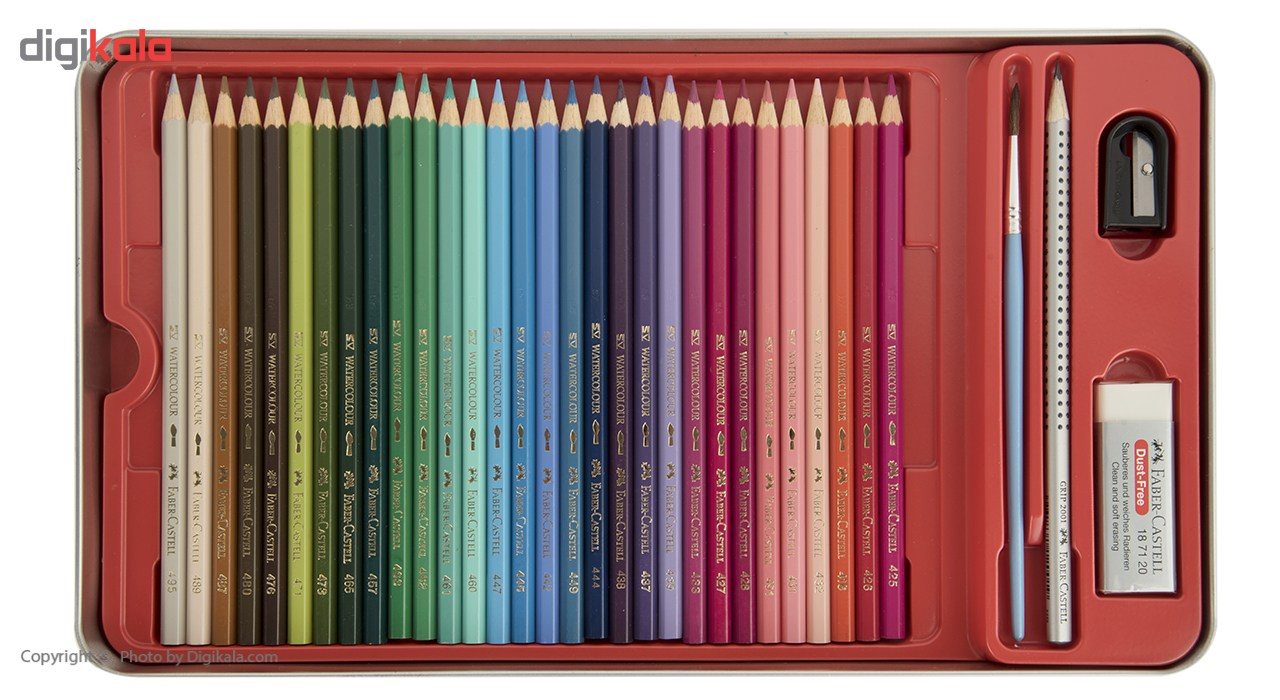 مداد آبرنگی 60 رنگ فابر-کاستل مدل Sketch