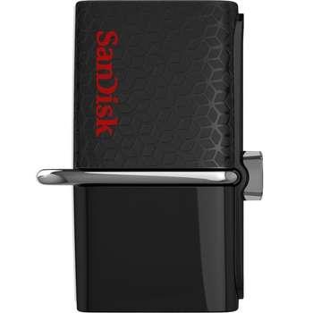 فلش مموری سن دیسک مدل Ultra Dual USB Drive 3.0 ظرفیت 128 گیگابایت