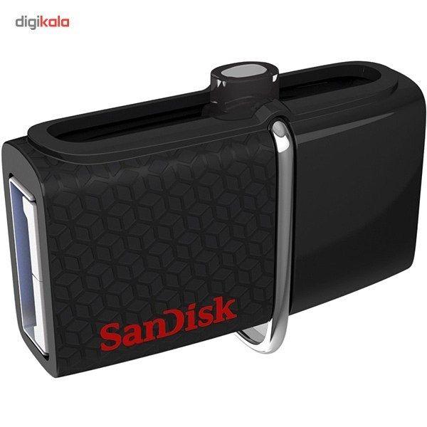 فلش مموری سن دیسک مدل Ultra Dual USB Drive 3.0 ظرفیت 128 گیگابایت main 1 2