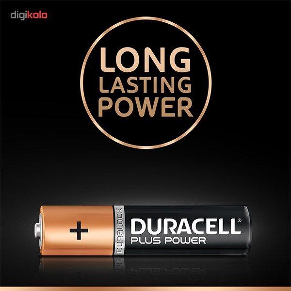 باتری نیم قلمی دوراسل مدل Plus Power بسته 4 عددی main 1 2