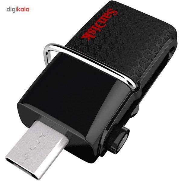 فلش مموری سن دیسک مدل Ultra Dual USB Drive 3.0 ظرفیت 128 گیگابایت main 1 6