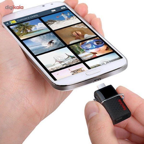 فلش مموری سن دیسک مدل Ultra Dual USB Drive 3.0 ظرفیت 128 گیگابایت main 1 8