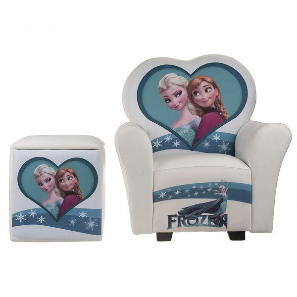 مبل و جلو مبلی کودک پینک مدل Frozen