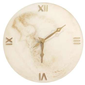 ساعت دیواری طرح سنگ مصنوعی کد cio7d11
