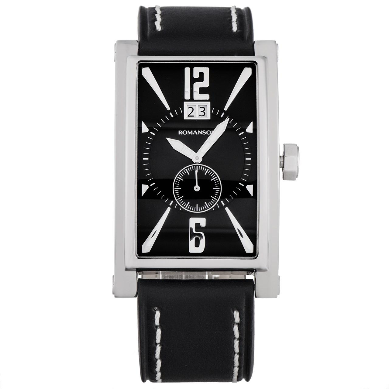 ساعت مچی عقربه ای مردانه رومانسون مدل TL8901UM1WA32W