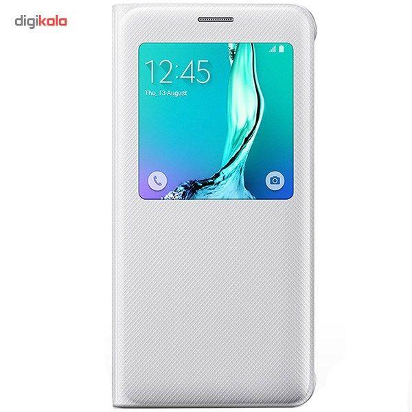 کیف کلاسوری سامسونگ مدل S View مناسب برای گوشی موبایل Galaxy S6 Edge Plus