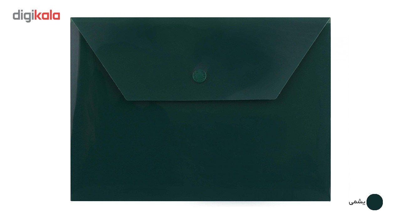 پوشه دکمه دار پاپکو کد B5-ClearM سایز A5 main 1 6