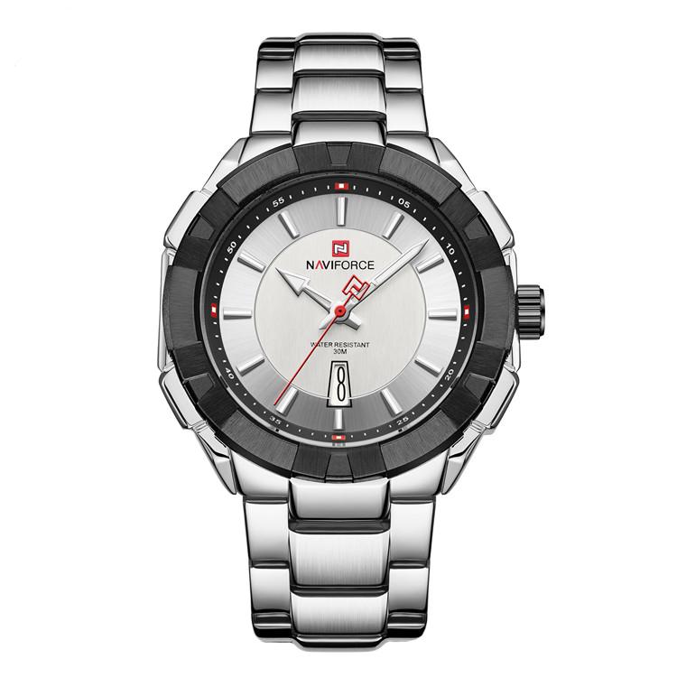 ساعت مچی عقربهای مردانه نیوی فورس مدل NF9176M - NO-ME              خرید (⭐️⭐️⭐️)