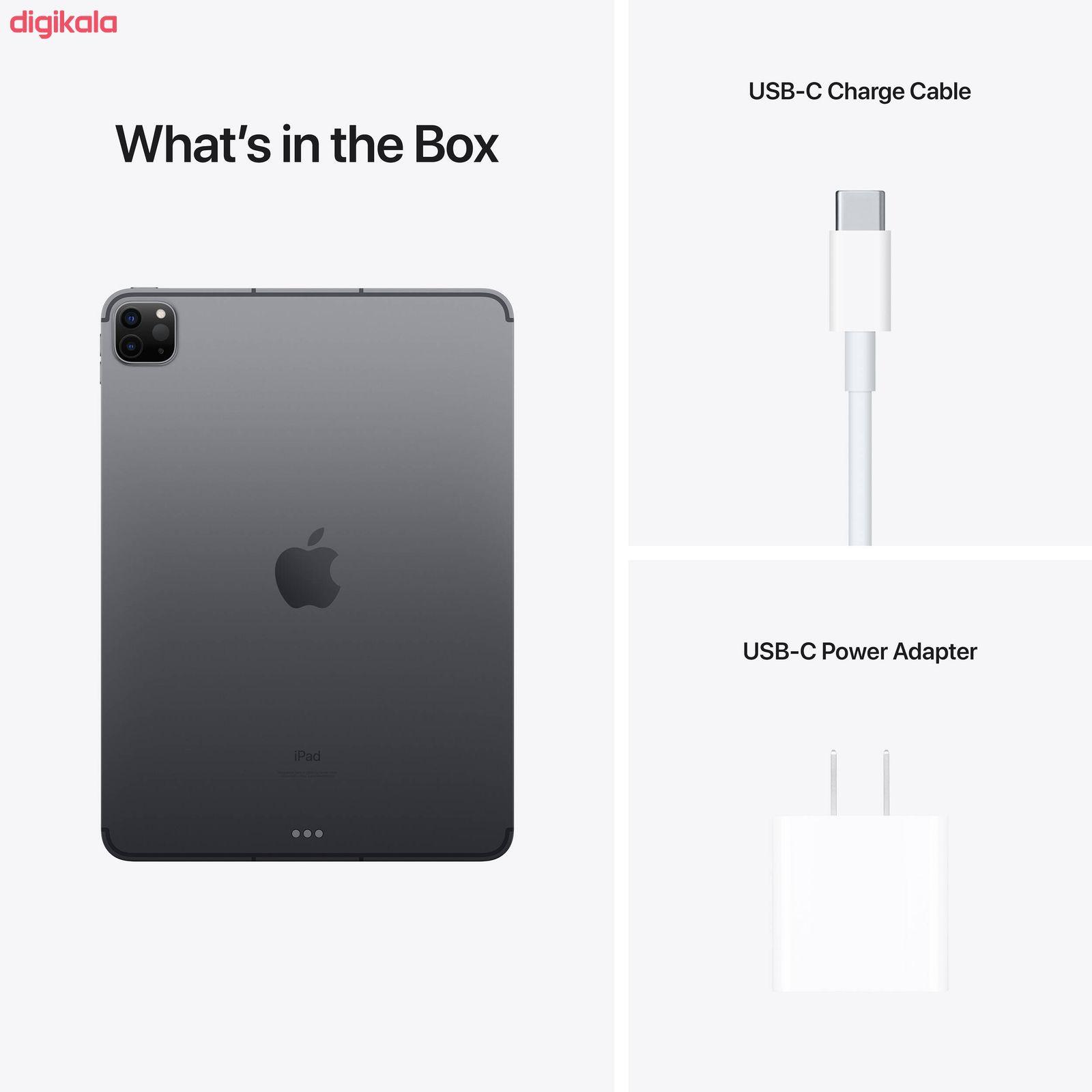 تبلت اپل مدل iPad Pro 11 inch 2021 WiFi ظرفیت 256 گیگابایت main 1 3
