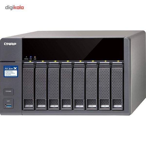 ذخیره ساز تحت شبکه کیونپ مدل TS-831X-4G بدون دیسک
