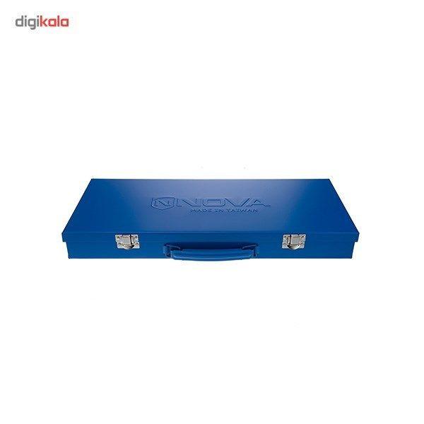 مجموعه 24 عددی آچار بکس نووا مدل NTS-7001 دوازده گوشه main 1 2