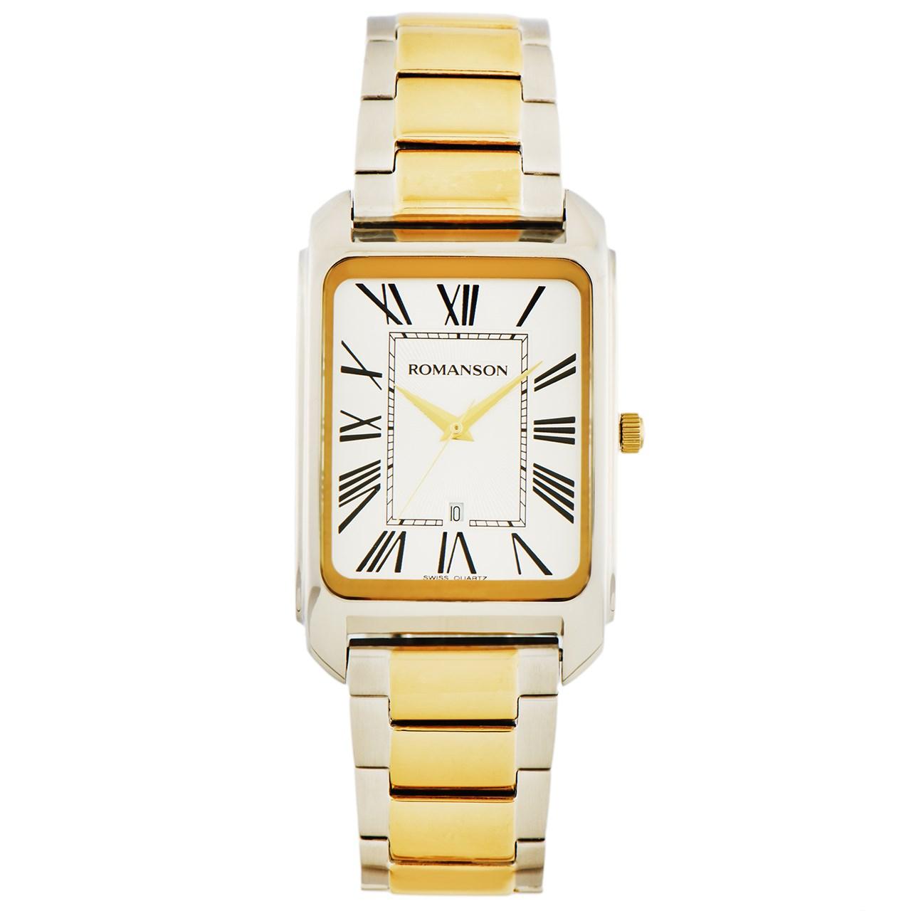 ساعت مچی عقربه ای مردانه رومانسون مدل TM2632MM1CAS5G 37