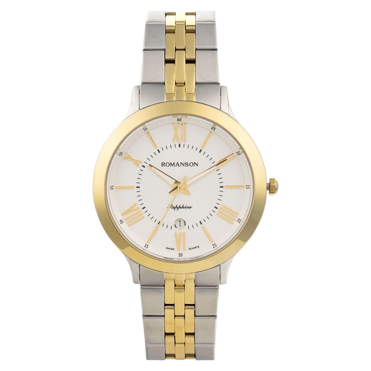 ساعت مچی عقربه ای مردانه رومانسون مدل TM7A05MMCCA1R2