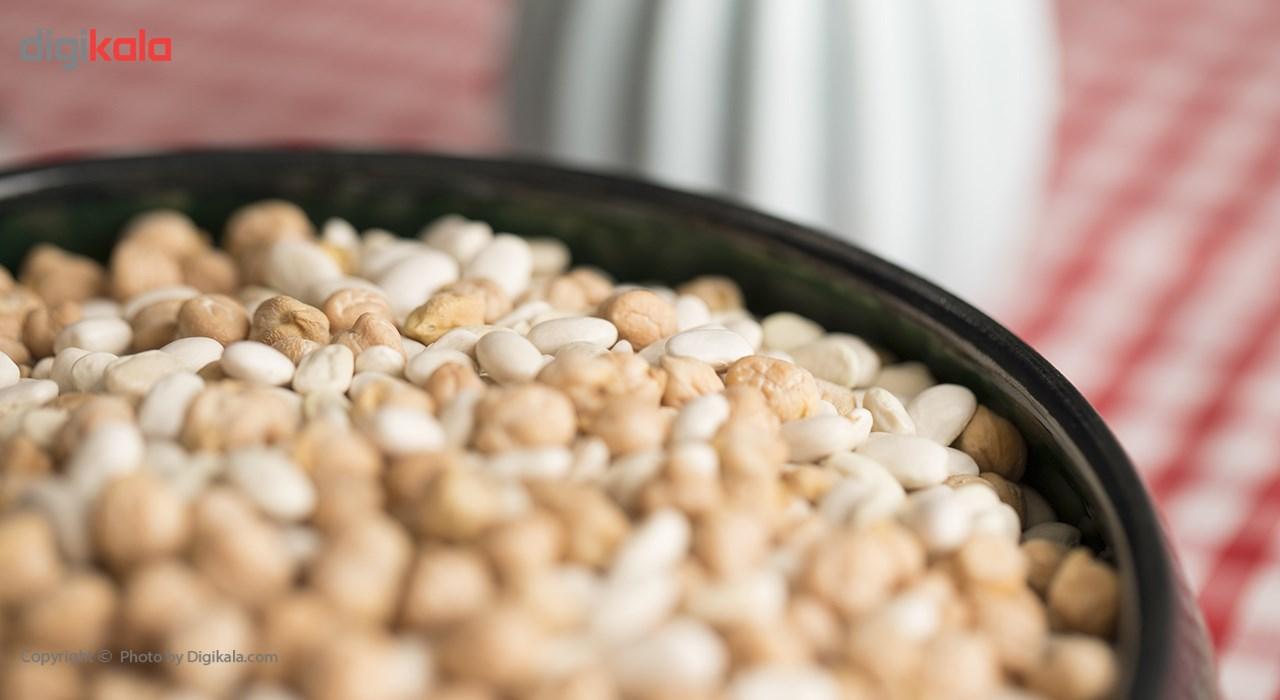 نخود و لوبیا مخلوط خشکپاک مقدار 900 گرم