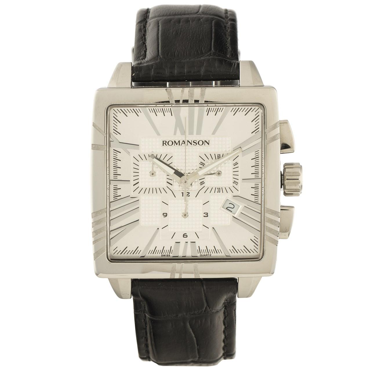 ساعت مچی عقربه ای مردانه رومانسون مدل TL1263HM1WAS2W 44