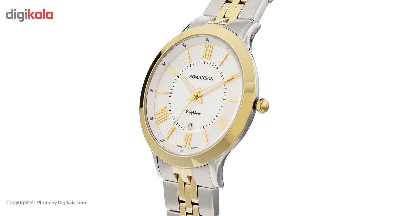 ساعت مچی عقربه ای مردانه رومانسون مدل TM7A05MMCCA1R2 -  - 3