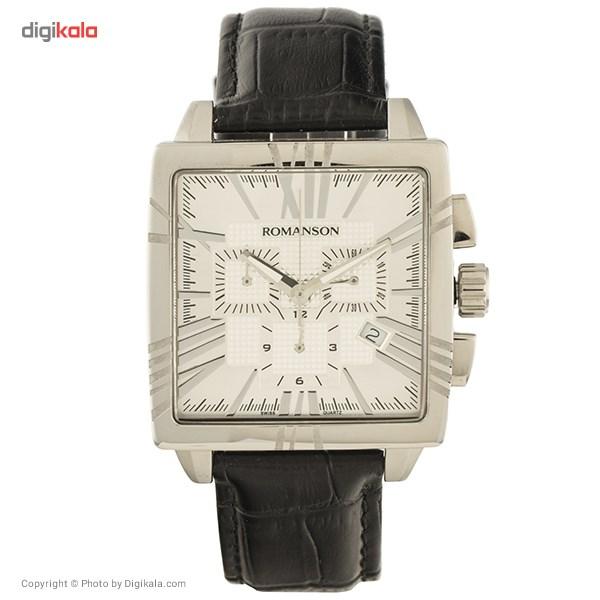ساعت مچی عقربه ای مردانه رومانسون مدل TL1263HM1WAS2W