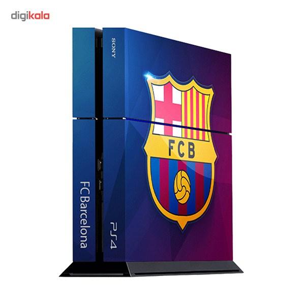 برچسب عمودی پلی استیشن 4 ونسونی طرح FC Barcelona