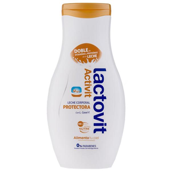شیر بدن محافظ پوست لاکتویت سری Activit حجم 400 میلی لیتر
