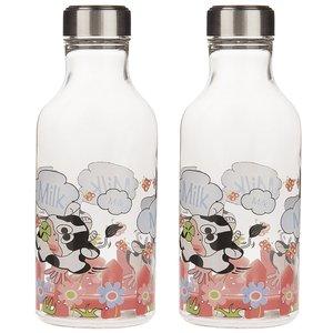 بطری شیر زیباسازان مدل Oval - بسته 2 عددی
