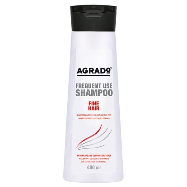 شامپو موهای نازک آگرادو مدل Fine Hair حجم 400 میلی لیتر