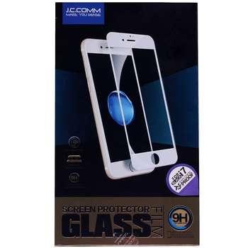 محافظ صفحه نمایش شیشه ای جی سی کام مدل 3D مناسب برای گوشی موبایل آیفون 7