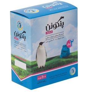 کیسه زباله پنگوئن رول 100 عددی