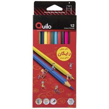 مداد رنگی 12 رنگ کوییلو کد 634003