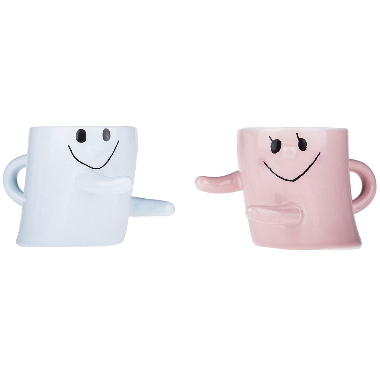 ماگ سرامیکی مدل Hug Me Mug