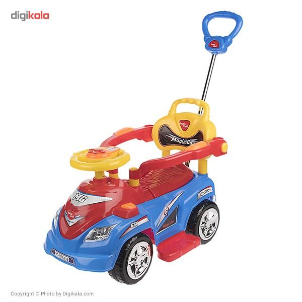 ماشین بازی سواری بیبی لند مدل Magic Car main 1 1