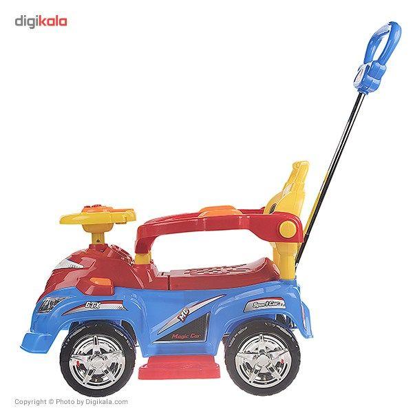 ماشین بازی سواری بیبی لند مدل Magic Car main 1 2