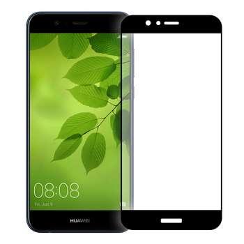 محافظ صفحه نمایش شیشه ای تمپرد مدل Full Cover مناسب برای گوشی هوآوی Nova 2 Plus