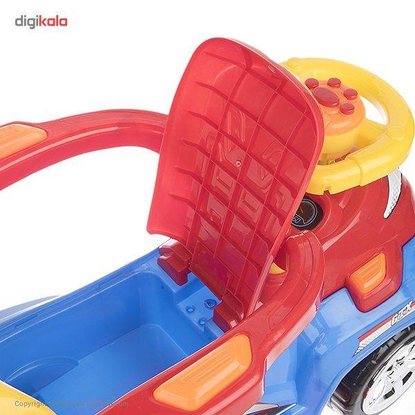 ماشین بازی سواری بیبی لند مدل Magic Car main 1 5