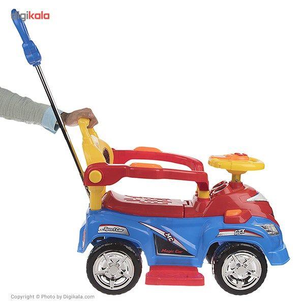 ماشین بازی سواری بیبی لند مدل Magic Car main 1 6
