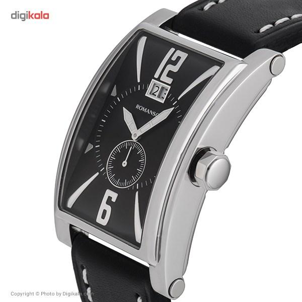 خرید ساعت مچی عقربه ای مردانه رومانسون مدل TL8901UM1WA32W