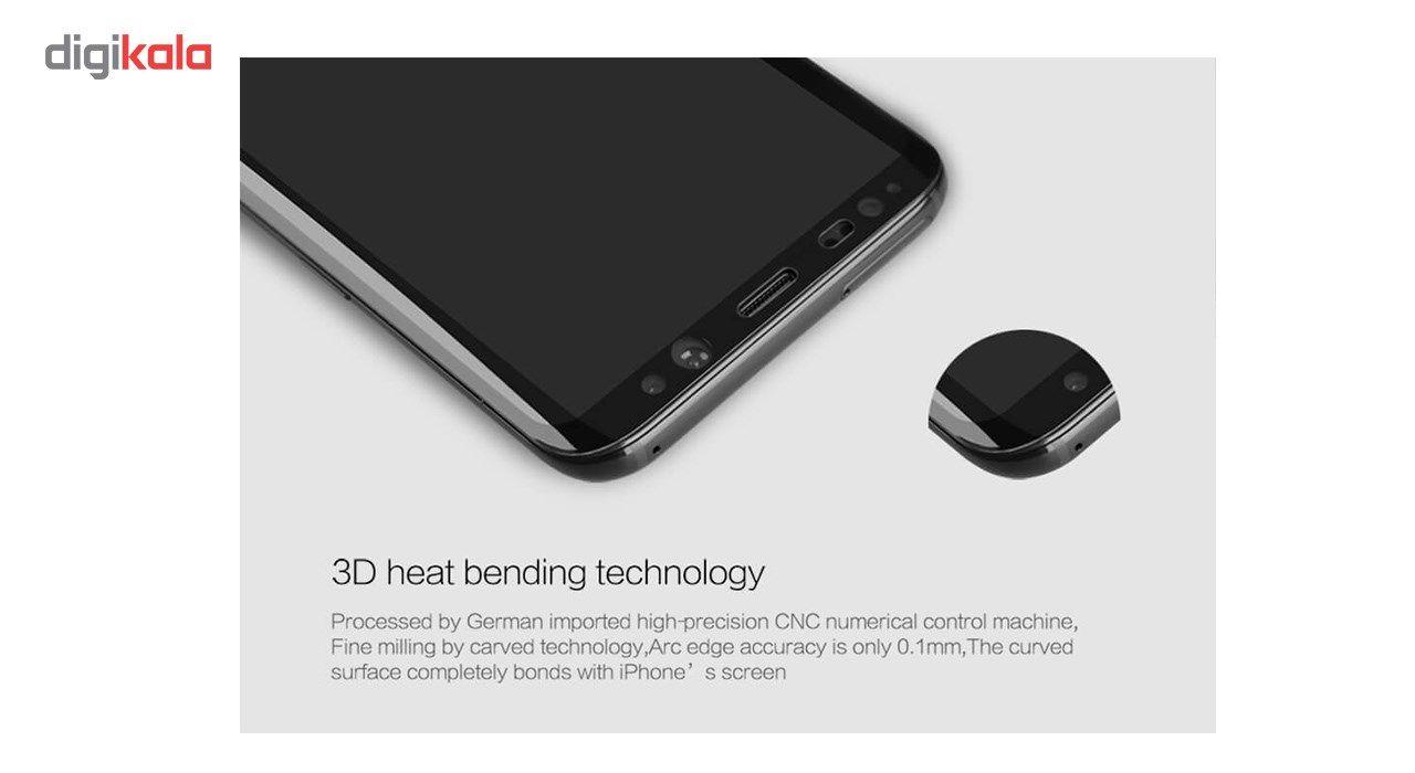 محافظ صفحه نمایش شیشه ای نیلکین مدل Amazing 3D CP Plus Anti Explosion مناسب برای گوشی موبایل سامسونگ S8 main 1 4