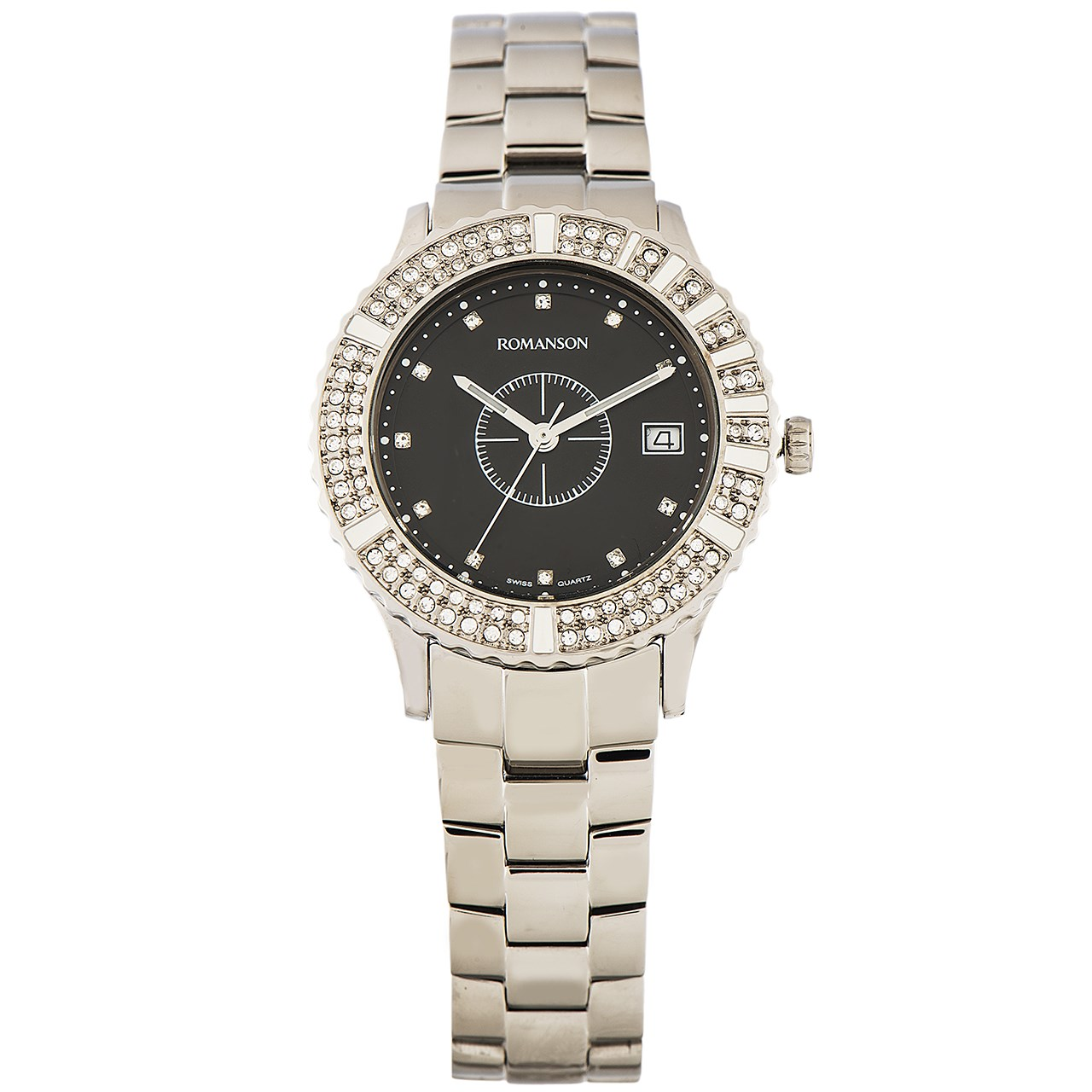 ساعت مچی عقربه ای زنانه رومانسون مدل RM9229TL1WA32W 26