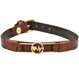 دستبند چرمی کهن چرم مدل BR97-7