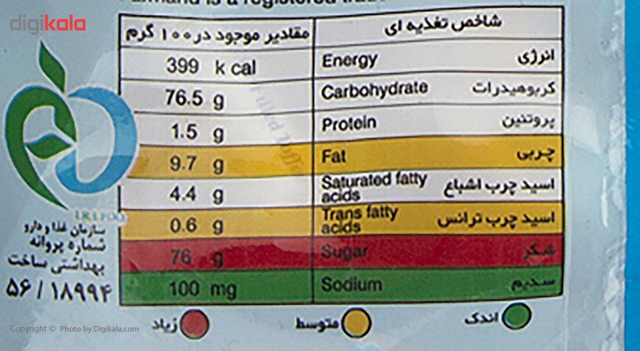تافی شیری با مغز کارامل فرمند مقدار 400 گرم main 1 2
