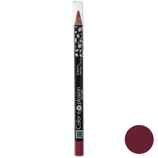 مداد لب دی ام جی ام سری Color Explosion مدل Flushed Rose شماره 02